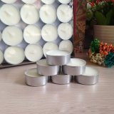 Wholesale 8g 2hours Paraffin Unscented Tealight Candles