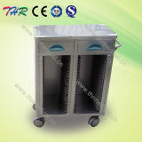 Thr-Ssc002 Stainless Steel Medical Patient Chart Cart