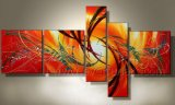 Handmade Stretched Canvas Wall Art Abstract Oil Painting (XD5-111)