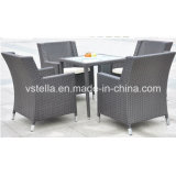Outdoor Patio Garden Rattan Wicker Dining Furniture