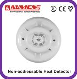 Low-Profile Intelligent, 12V/ 24V Heat Detector, UL/En54 Approved Heat Detector (HNC-310-H2)