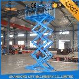 Stationary Electric Scissor Lift Table Resident Vertical Lift Platform