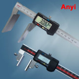 Digital Calipers with Broad Measuring Face