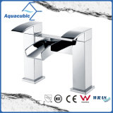 Dual Handle Bathroom Bath Shower Faucet/Mixer (AF6004-2B)