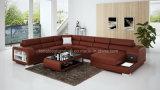 G8029 New Model Leather Functional U Shaped Sofa