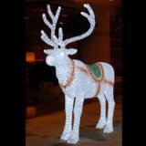 LED Christmas Light with Deers Pull Santa Claus (SKY-068-24V)