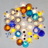 Modern Meteor Shower Colorful Magic Ball Blown Glass Bubble 12V G4 LED Pendant Light