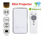 LED Mini Pocket Projector Mini Projector HD 1080P Pico Projector Engine