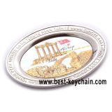 Custom Metal Blank Fridge Magnets Circular Souvenirs (BK53277)