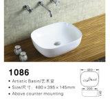 Sellable Rectangular Ceramic Artistic Sink