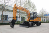 12t Wheel Excavator Manufacturer