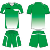 Customized Team Sublimated Soccer Kits with Breathable Fabric
