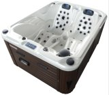 New Small Acrylic Balboa Control Outdoor Whirlpool with 2 Lounge Seats/Video/Lled (Venus)