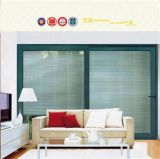 Professional Double Glazing Aluminum Glass Sliding Door (pH-8801)