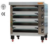 Bake Layer, Deck Oven with Electric Gas Stone Steam (D4/16)