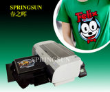 Digital T-Shirt Printer with White Ink
