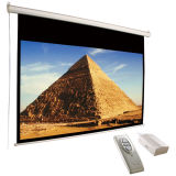 "106"" Motorized Projection Screens with Remote Controller"