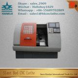 Ck50L Taiwan Turret Type CNC Lathe Machine Auto Slant Bed
