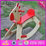 2016 Wholesale Baby Wooden Spring Rocking Horse, Cheap Kids Wooden Spring Rocking Horse, Children Spring Rocking Horse W16D088