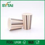 Customized Company Logo Cute Design Single Wall Paper Coffee Cups