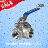 3 Way Welding Ball Valve, Stainless Steel 201, 304, 316 Ball Valve