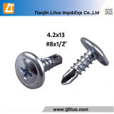 Good Quality Galvanzied Wafer Head Self Drilling Screws C1022A