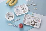 100% Melamine Tableware -First-Grade Kid′s Tray (NBG9008)