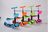 2016 New Design 3 Wheels Kids Scooter with Basket