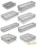 Newest Sterilization Stainless Steel Wire Mesh Tray and Basket