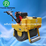 Single Drum Hand Vibratory Road Roller for Sale (FYL-700C)