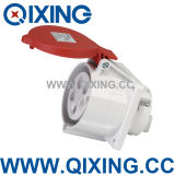 Ceeform 32A 5p Red Industrial Plug and Socket (QX3451)