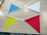 Custom Design Free Printable Full Color Printing PVC Triangle Bunting Flags