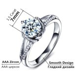 AAA Zircon Jewelry Bague Bijoux Accessories Ring