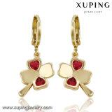 Fashion Nice Lovely Flower CZ Jewelry Earring Drops 91313