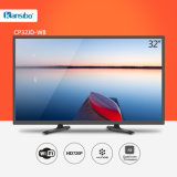 "32"" Cheap Price Smart Television Flat-Screen Black, White or Gold Shell Cp32jd-W8"