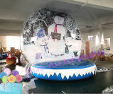 Inflatable Christmas Decoration Snow Ball for for Advertising (CYAD-1569)