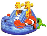0.55m PVC Inflatable Bouncer for School and Church Festivals (A085)
