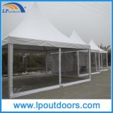 Outdoor High Quality Pagoda Tent Clear Wall Party Marquee