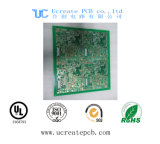 Doulbe Sided 4 Layers 6 Layers Fr4 Hal HASL Rigid PCB Printed Circuit Board