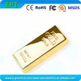 Customized Logo Gold Metal Memory Disk USB Flash Drive (es)
