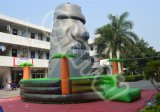 Inflatable Moai Rock Climbing Wall