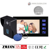 Hot Color Video Door Phone with RFID Card Unlocking
