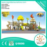 Children Plastic Outdoor Playground Slide Equipment with CE/ISO Certificate