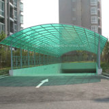 3mm Green Polycarbonate Solid Sheet for Exits