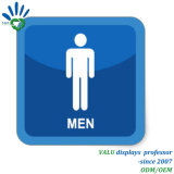 Custom Creative Acrylic Men and Women Toilet Indicator Sign
