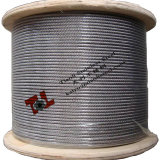 304 Stainless Steel Wire Rope 7X19 8mm