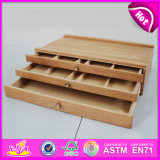 Table Painting Box, Decorative Table Top Easels, Cheap Wooden Mini Table Top Easel W12b066