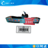 Customize Wrist Bands Logo Size Design Cheap Promotional Items China Personalized Woven/Silicone Wristbands