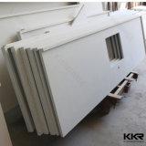 Pure White Quartz Stone Kitchen Counter Tops (C1706203)