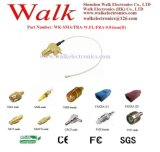 SMA Female W. FL 0.81mm (D) Cable, W. FL Cable, 0.81mm (D) Cable, SMA Female PCB Mount W. FL Cable Assembly
